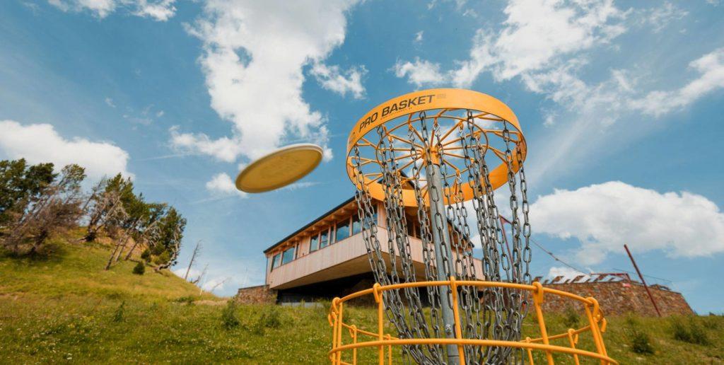 Primer campo de Disc Golf en Andorra