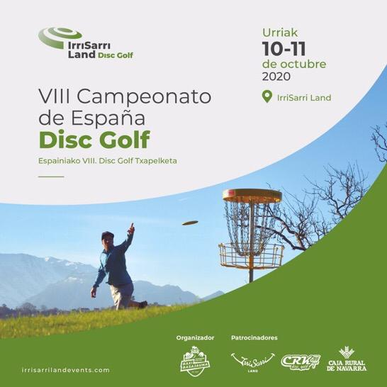 VIII Campeonato de España de Disc Golf 2020
