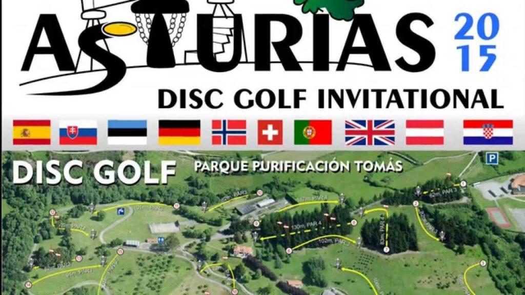 Asturias Disc Golf Invitational, primer torneo Internacional en España
