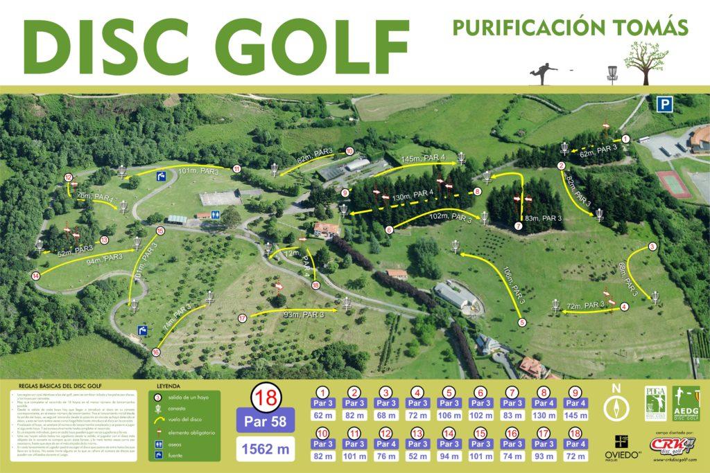 Campo del Parque Purificación Tomás. Primer Campo de 18 hoyos de España